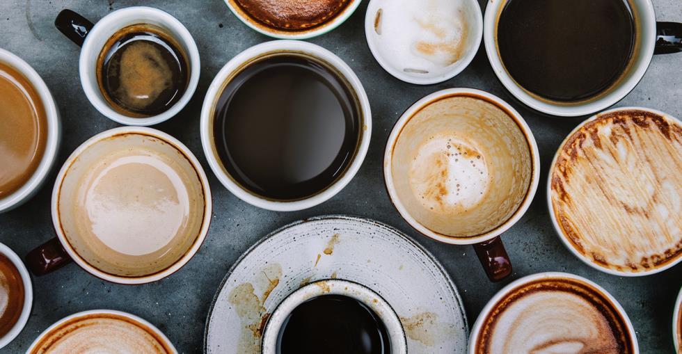 Cafe coffee latte food