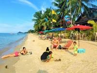 beach resort with long - 2
