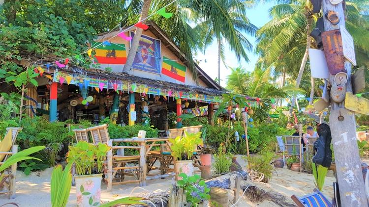 beach resort with long - 12