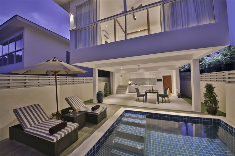 unique luxury pool villa - 8
