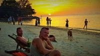 beach resort with long - 1