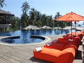 charming beachfront villa resort